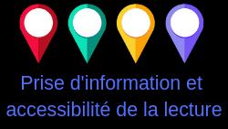 Dossier «lecture» : prise d'info et accessibilité