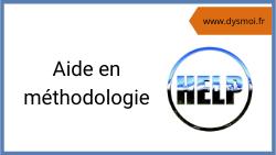 Aide en méthodologie